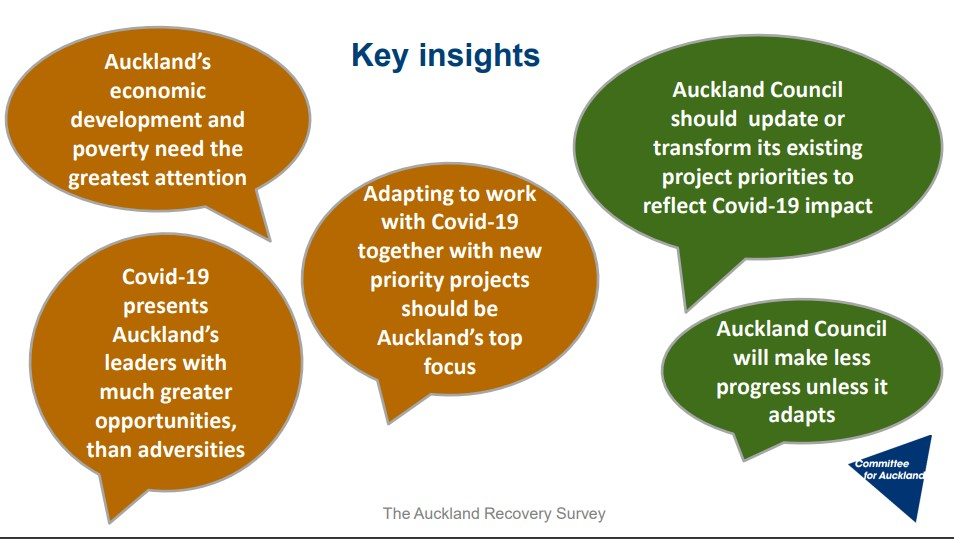 The Auckland Recovery survey